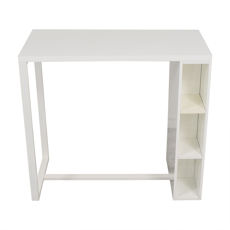 shop CB2 Counter Height Desk CB2