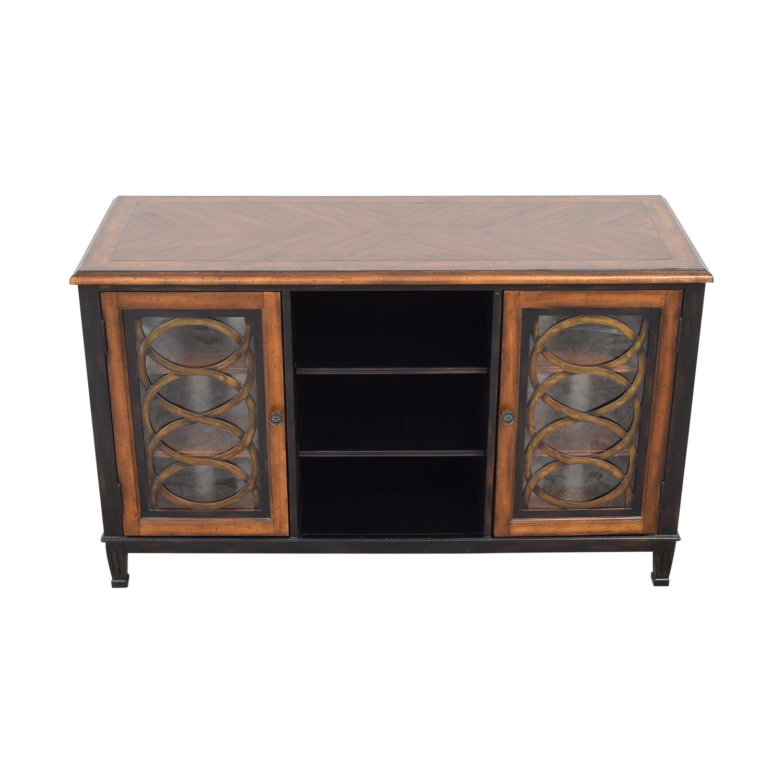 buy Hooker Furniture Two Tone Media Console Hooker Furniture Storage