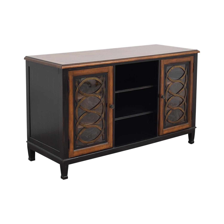 Hooker Furniture Hooker Furniture Two Tone Media Console for sale