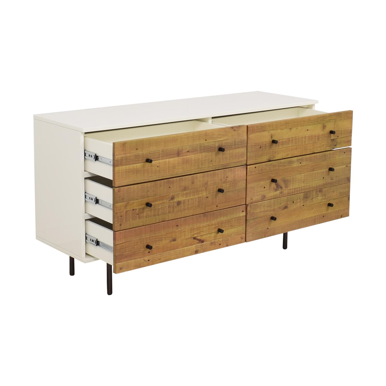 shop West Elm West Elm Reclaimed Wood & Lacquer Dresser online