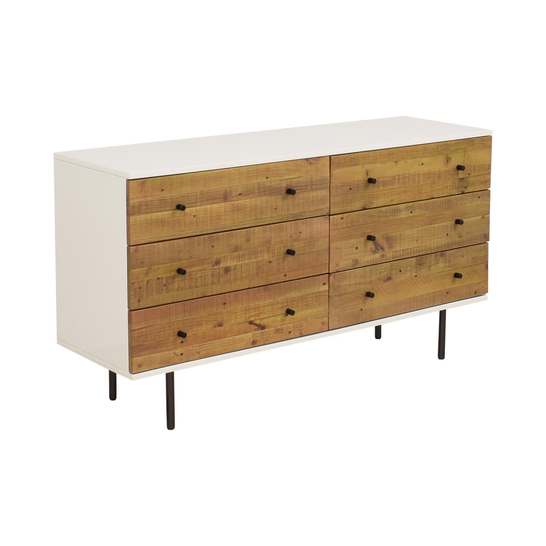 buy West Elm Reclaimed Wood & Lacquer Dresser West Elm Storage