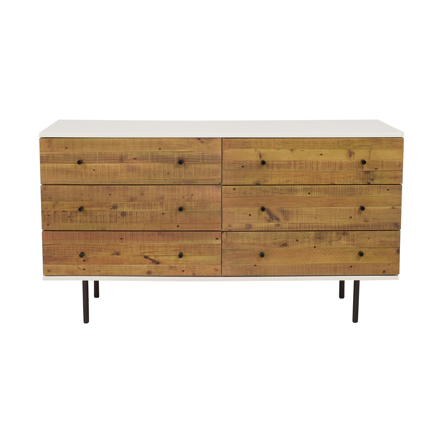 West Elm West Elm Reclaimed Wood & Lacquer Dresser nj