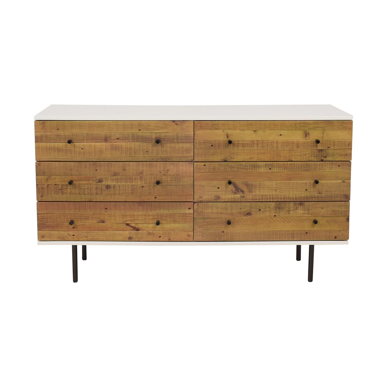 buy West Elm Reclaimed Wood & Lacquer Dresser West Elm