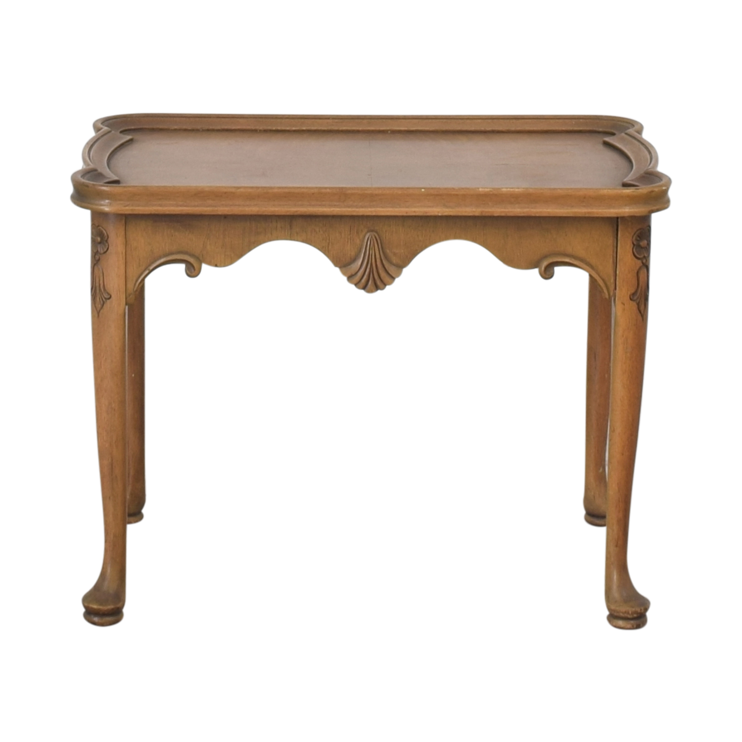 French Louis XIV Style End Table ct