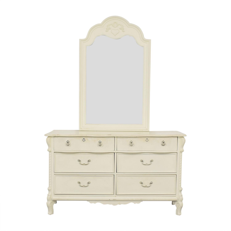 Lexington Furniture Lexington Storybook Dresser with Removable Mirror Dressers