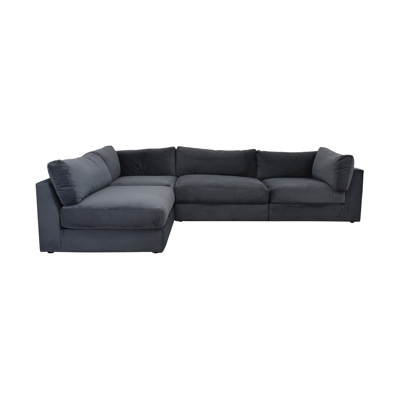 shop Macy's Aryanna 4-Piece Modular Sectional Sofa Macy's