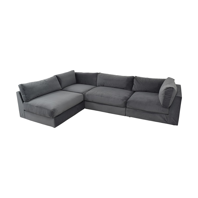 Macy's Macy's Aryanna 4-Piece Modular Sectional Sofa
