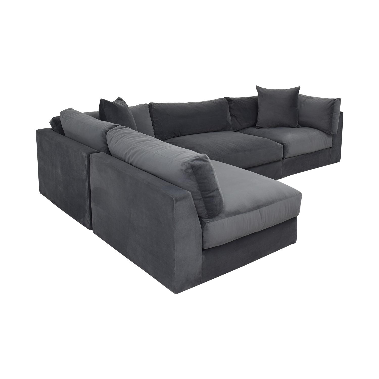 buy Macy's Aryanna 4-Piece Modular Sectional Sofa Macy's Sectionals