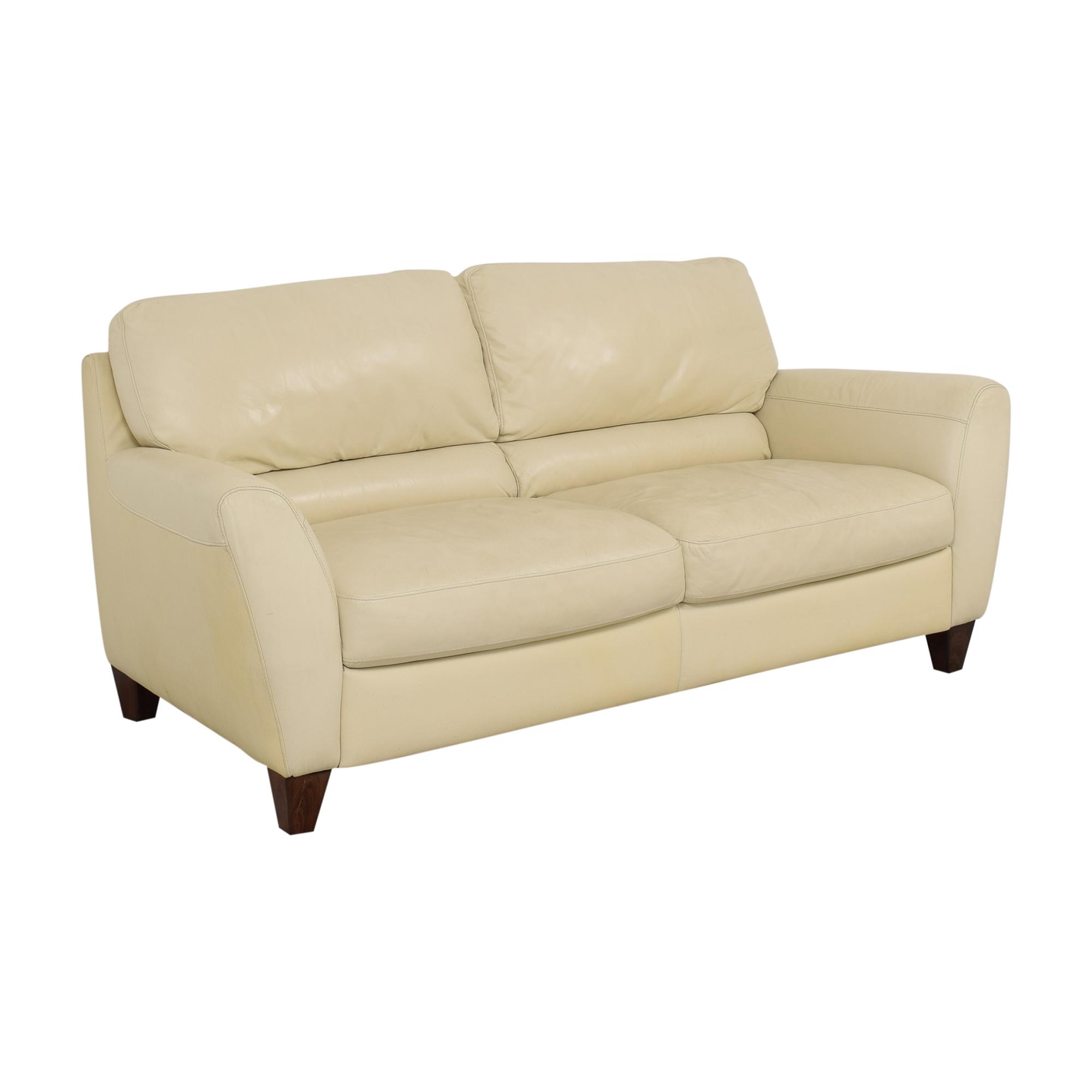 Macy's Italsofa Two Cushion Sofa sale