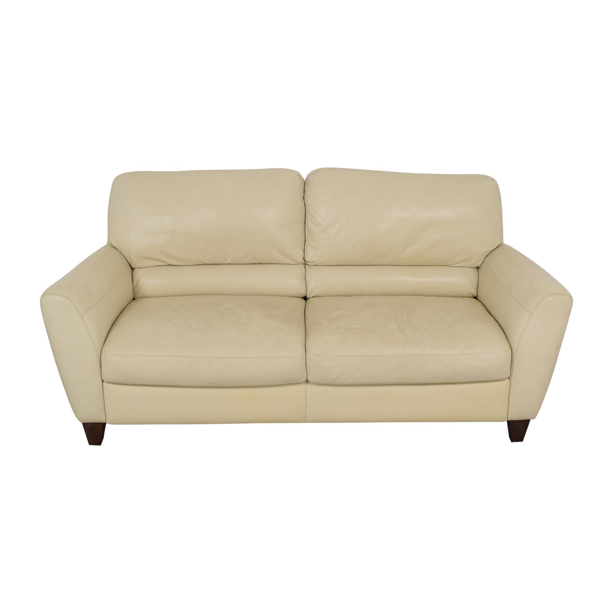 Macy's Macy's Italsofa Two Cushion Sofa ma