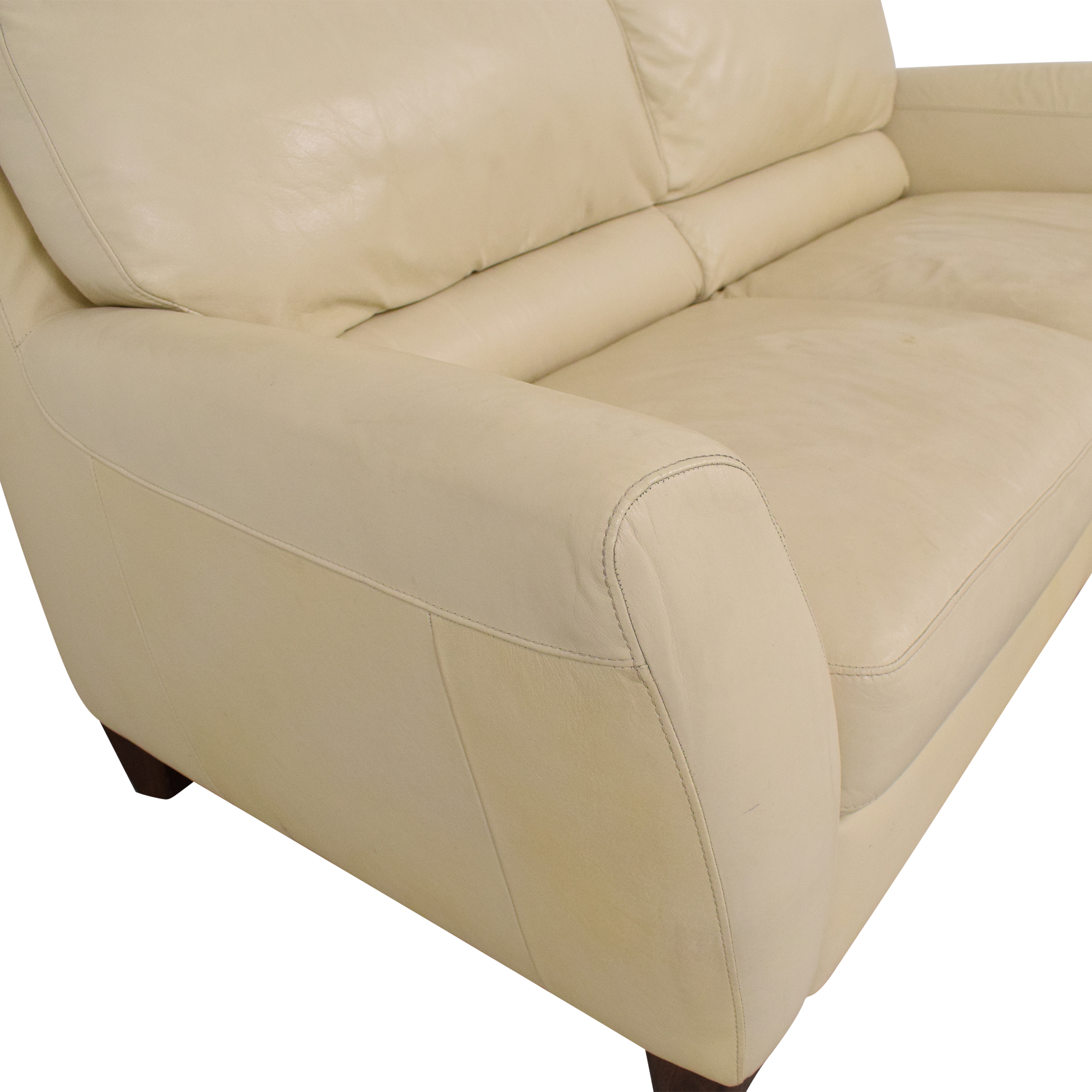 Macy's Macy's Italsofa Two Cushion Sofa Classic Sofas