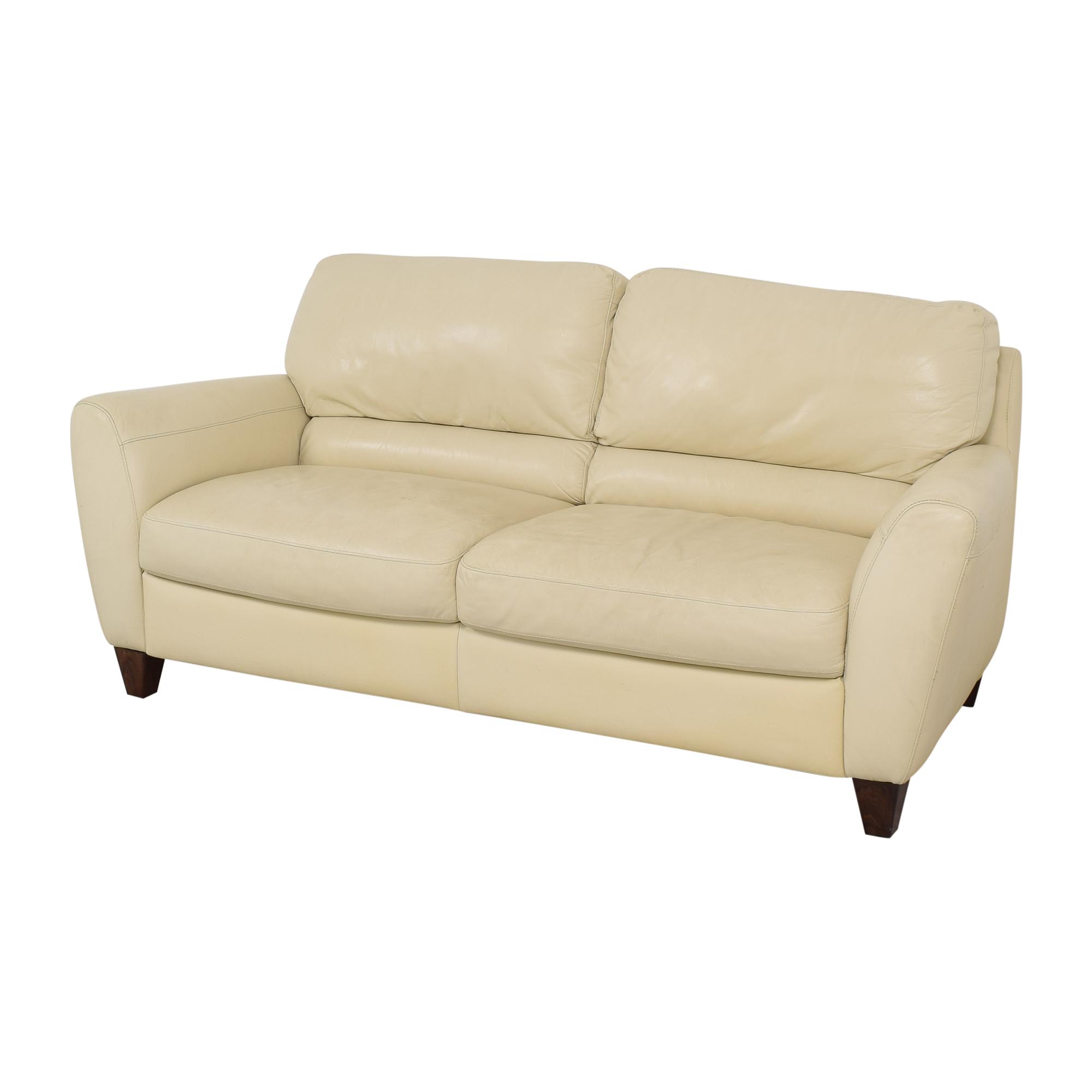 Macy's Macy's Italsofa Two Cushion Sofa on sale