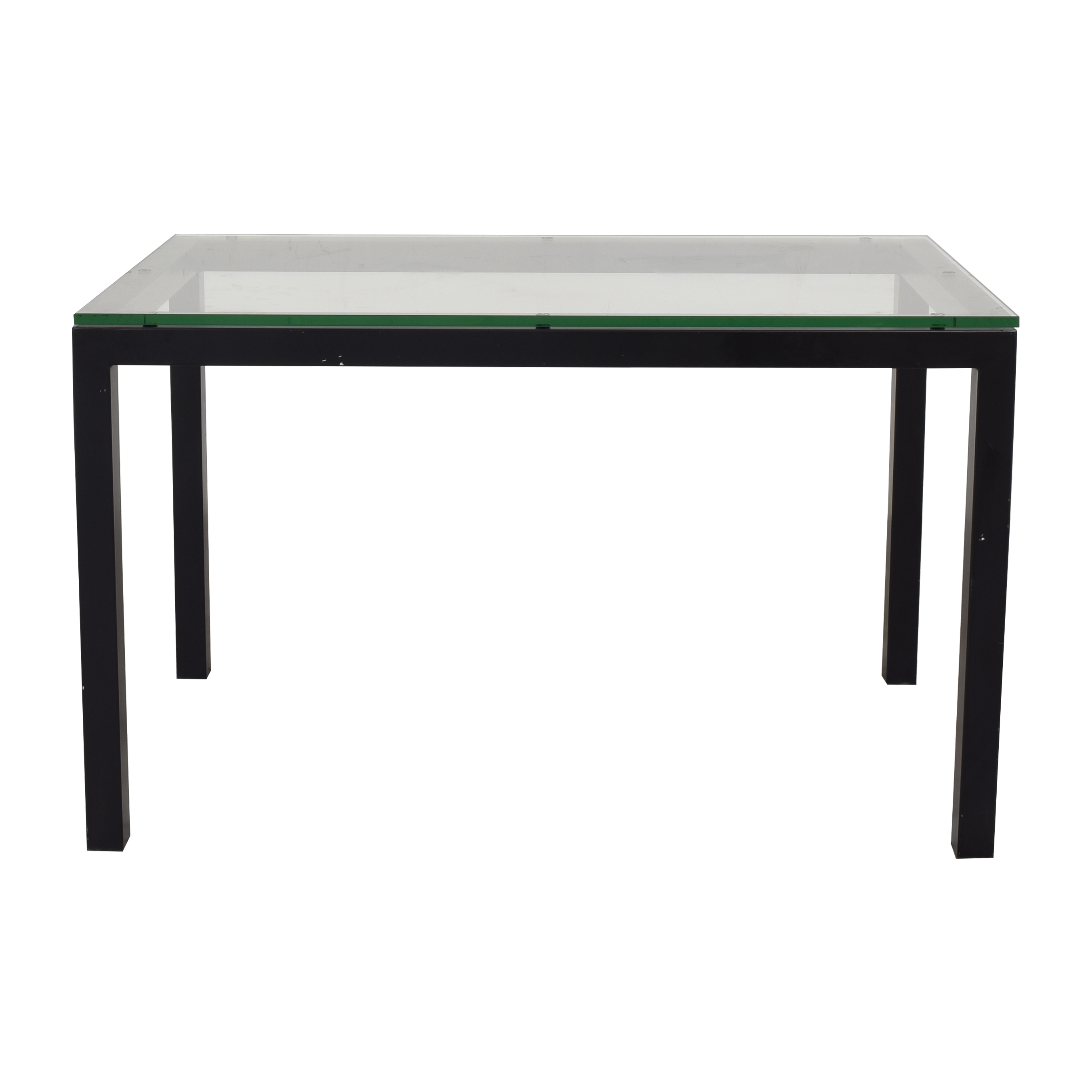 Crate & Barrel Crate & Barrel Parsons Dining Table for sale