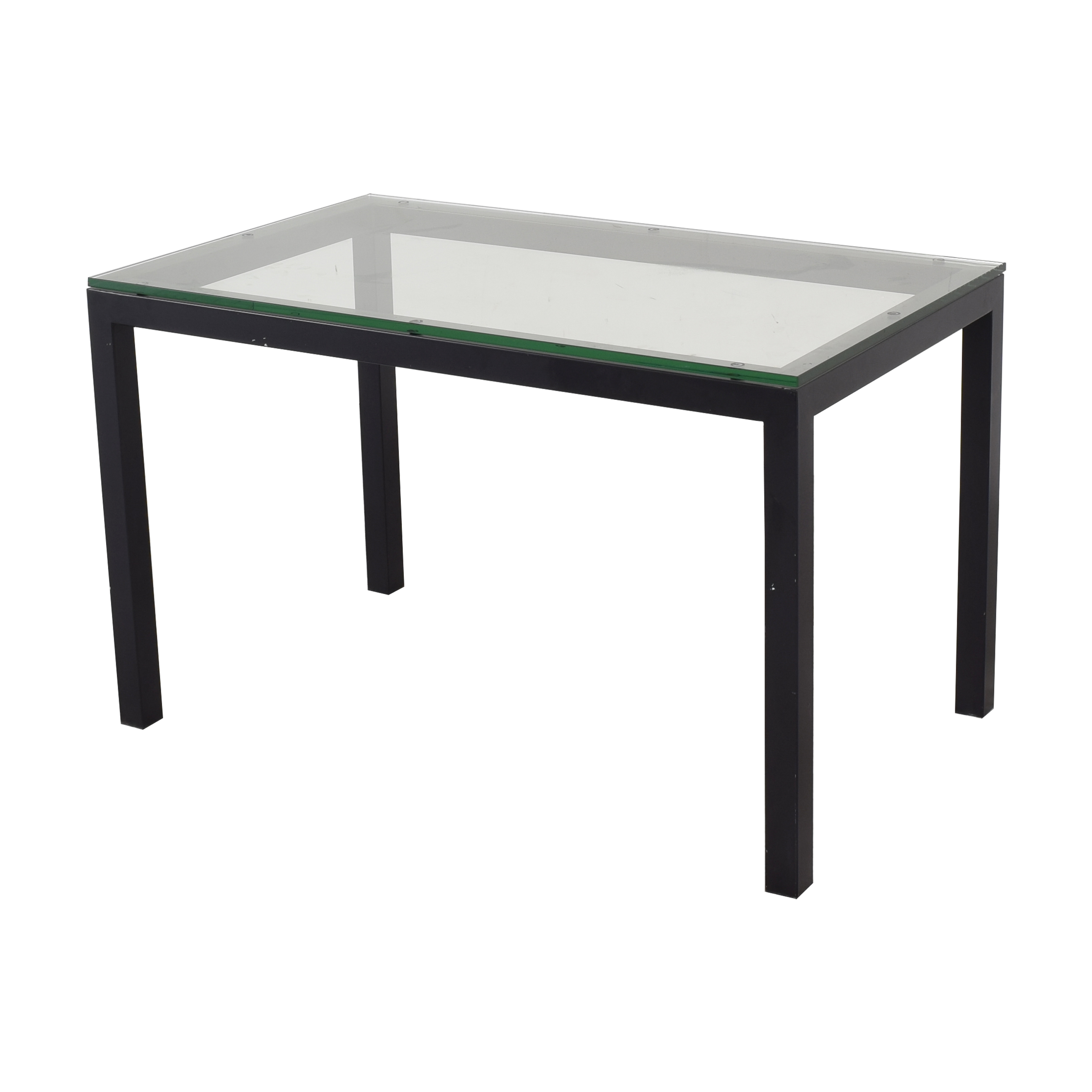Crate & Barrel Crate & Barrel Parsons Dining Table pa