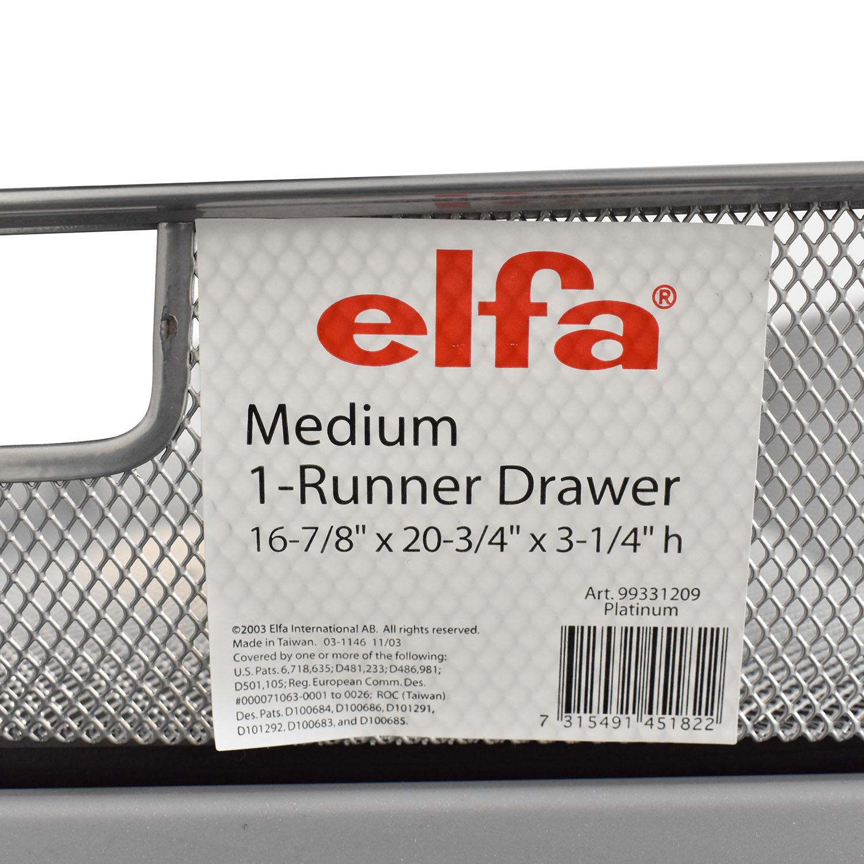 Elfa Elfa Wall Mounted Shelves and Desk on sale