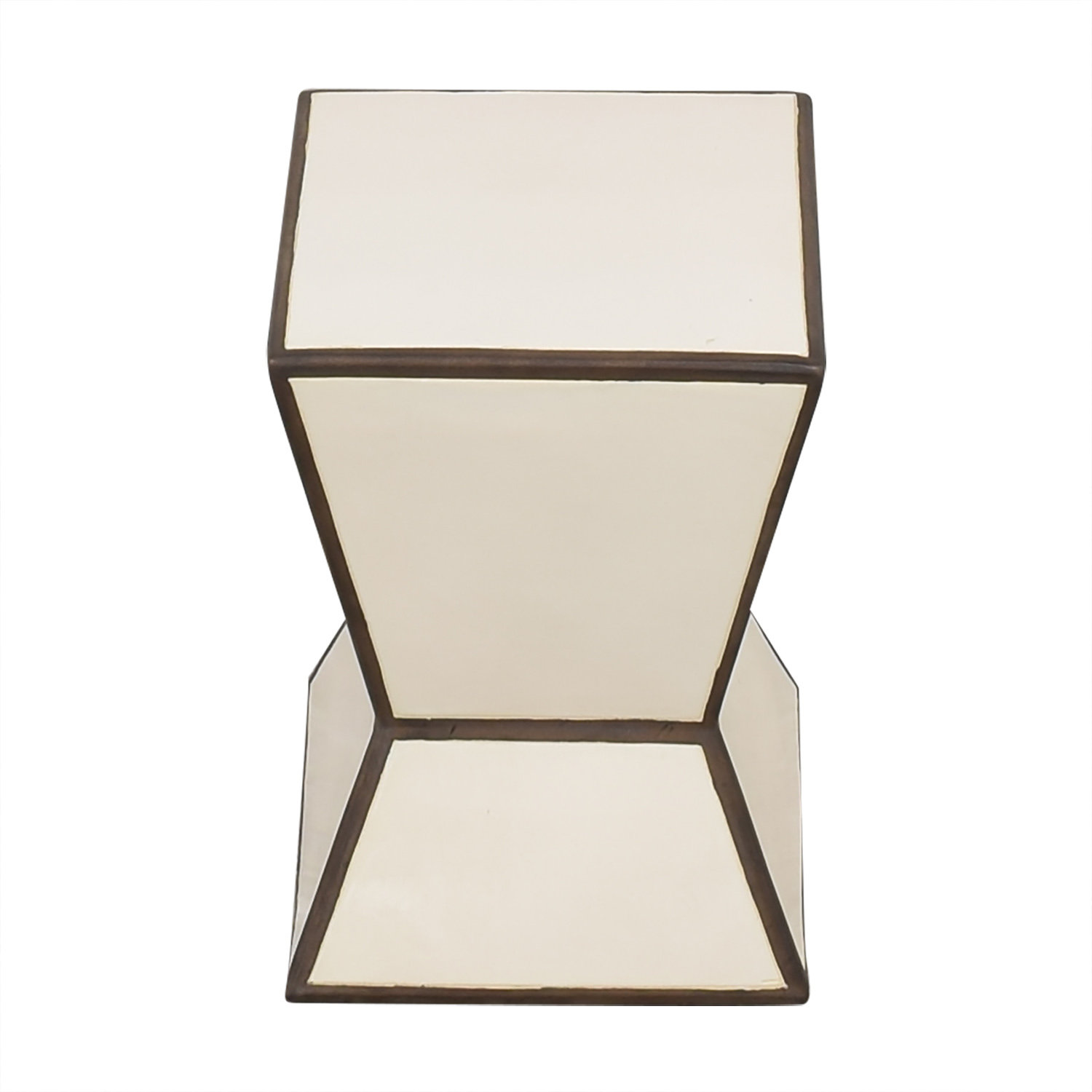 West Elm Hourglass Side Table second hand