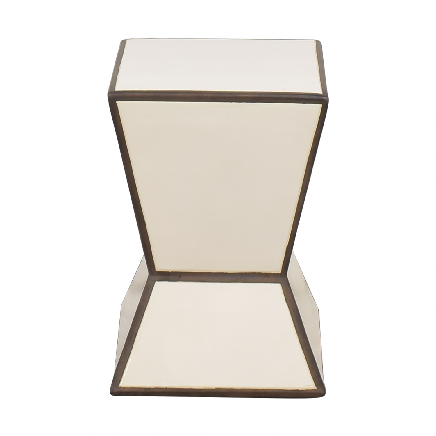 Hourglass Side Table West Elm
