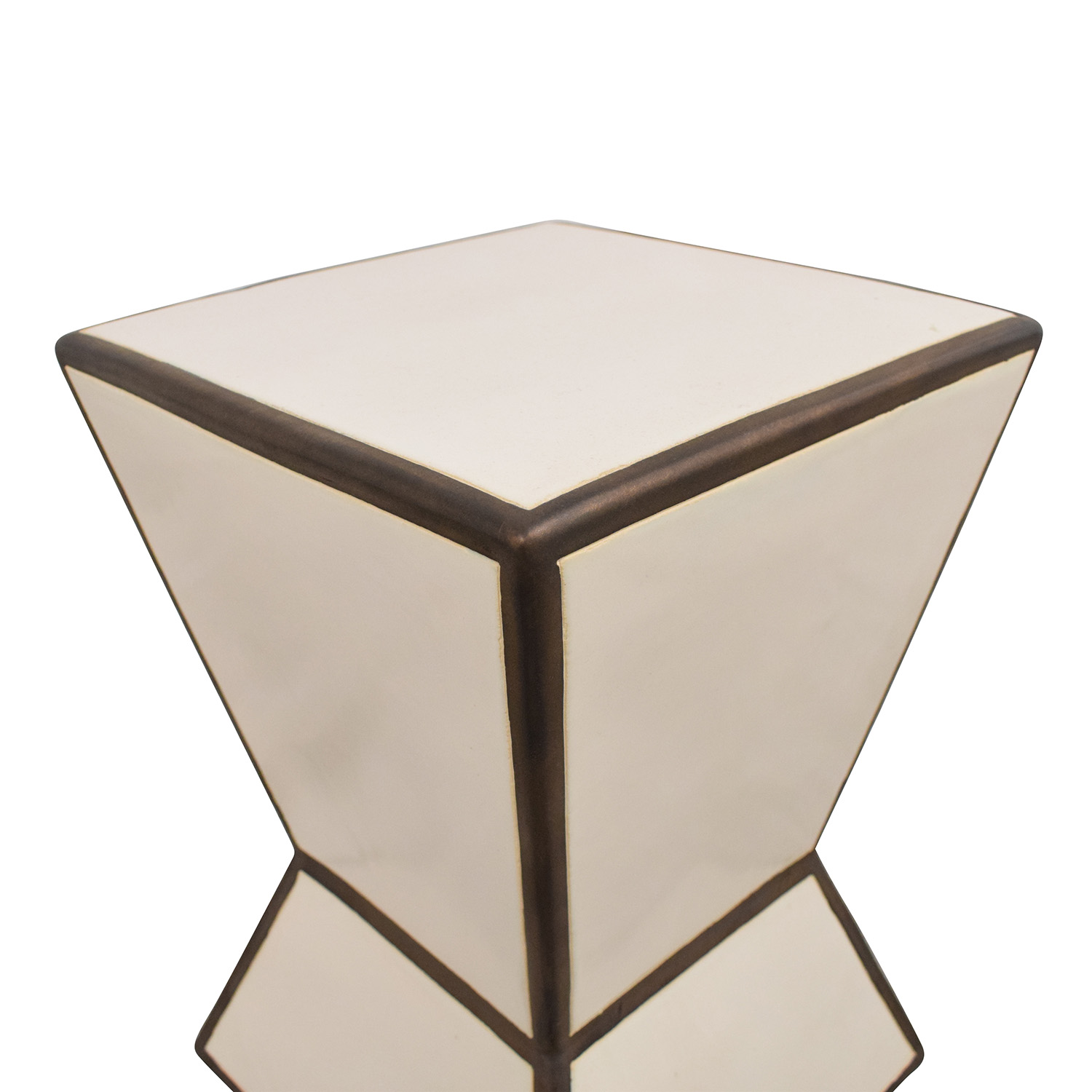 Hourglass Side Table / End Tables