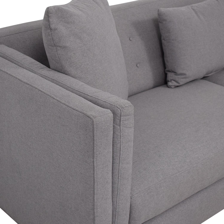 Macy's Macy's Braylei Track Arm Sofa coupon