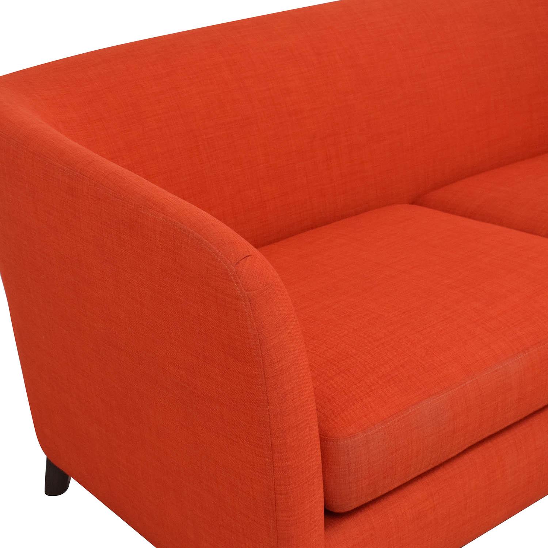 Crate & Barrel Ollie Apartment Sofa / Classic Sofas