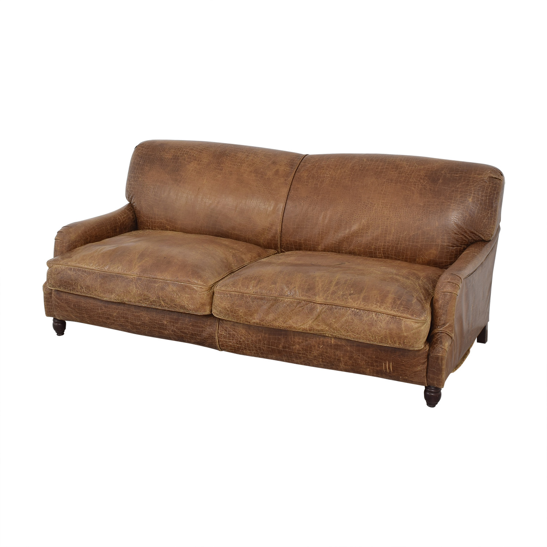 Andrew Martin Leather Sofa / Sofas