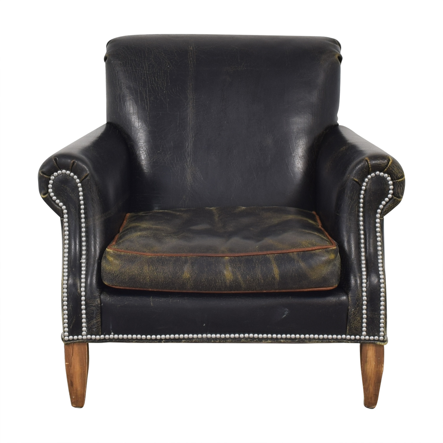 buy Old Hickory Tannery Distressed Club Chair Old Hickory Tannery Chairs