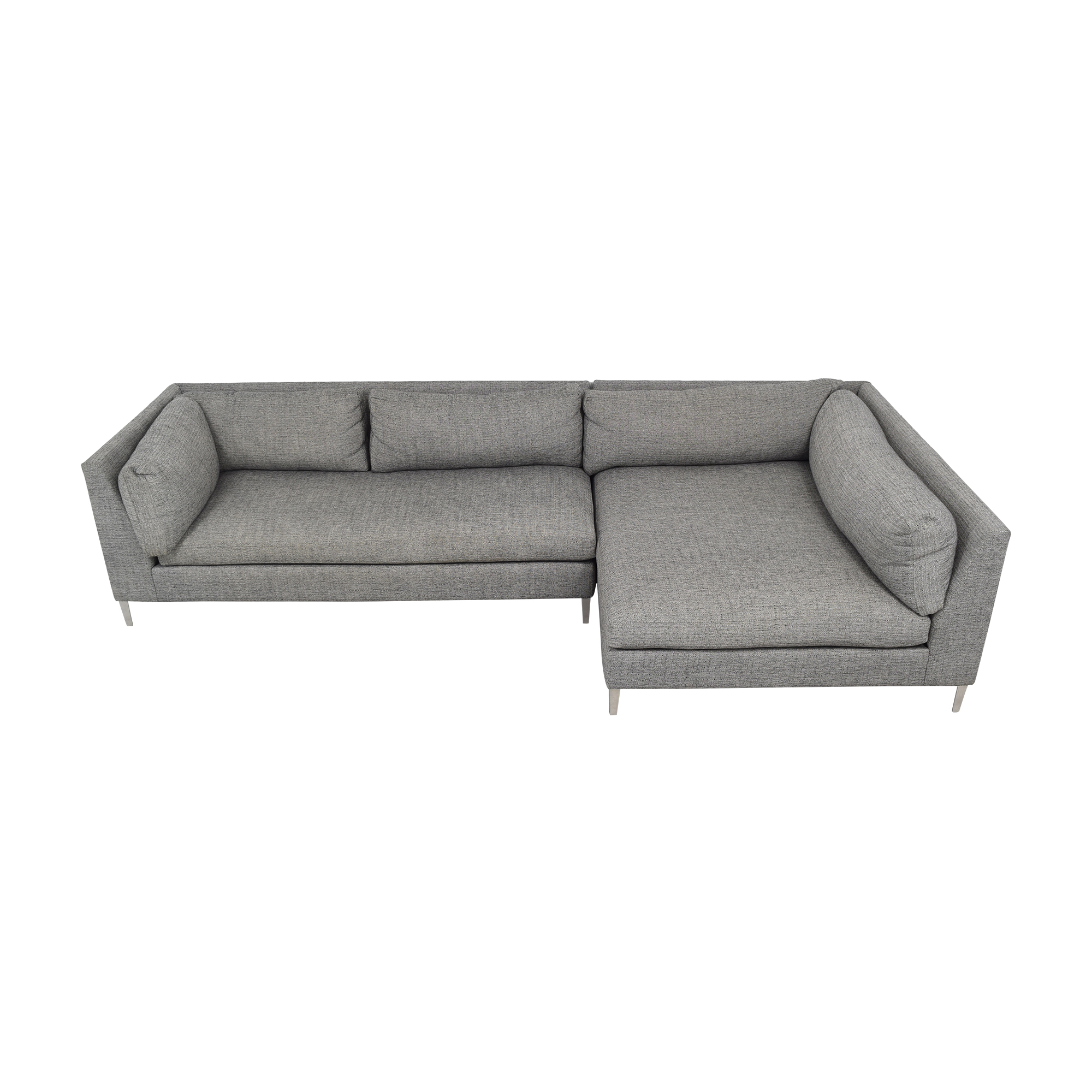 CB2 CB2 Decker Two- Piece Sectional Sofa Sofas