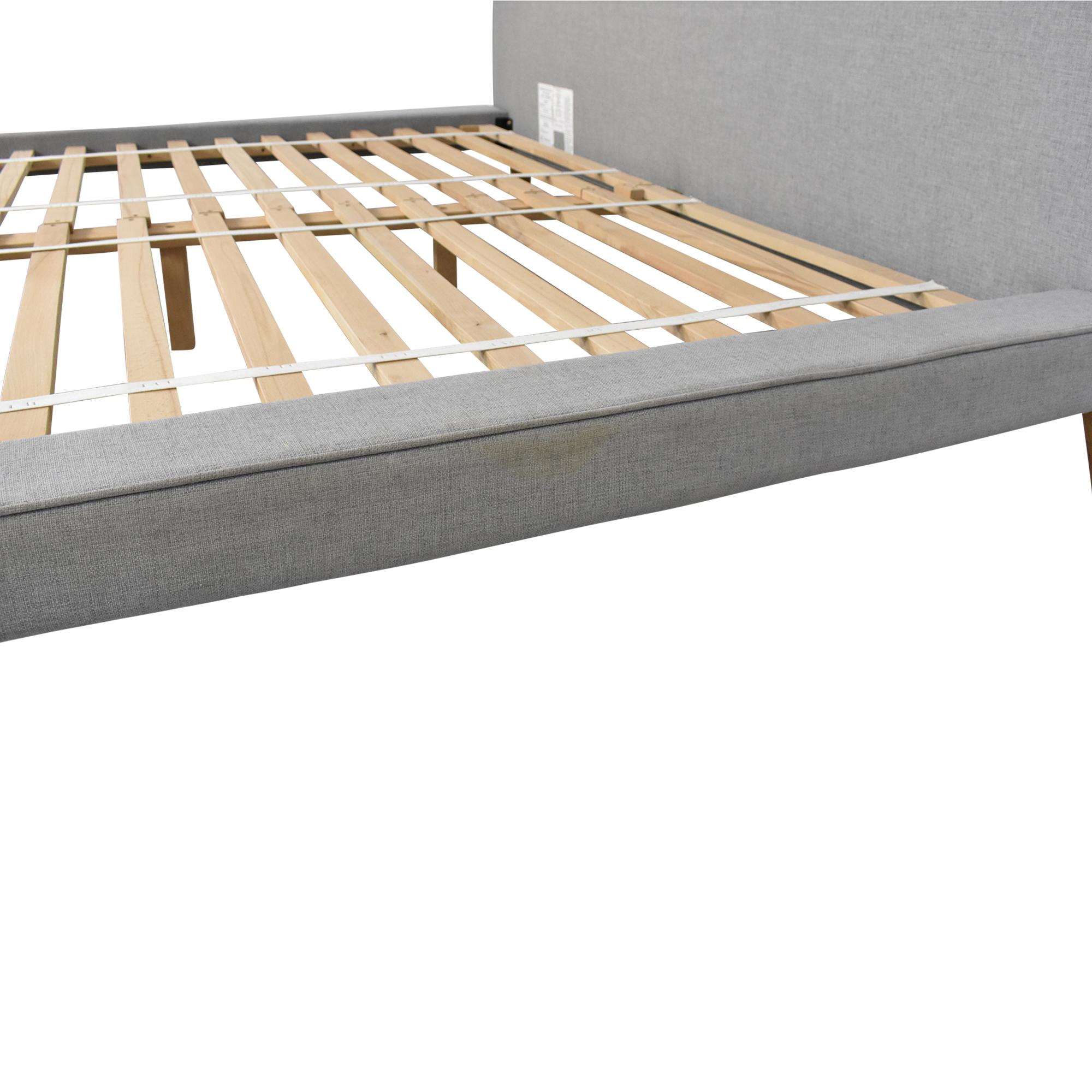 West Elm West Elm Mod Upholstered King Bed ct