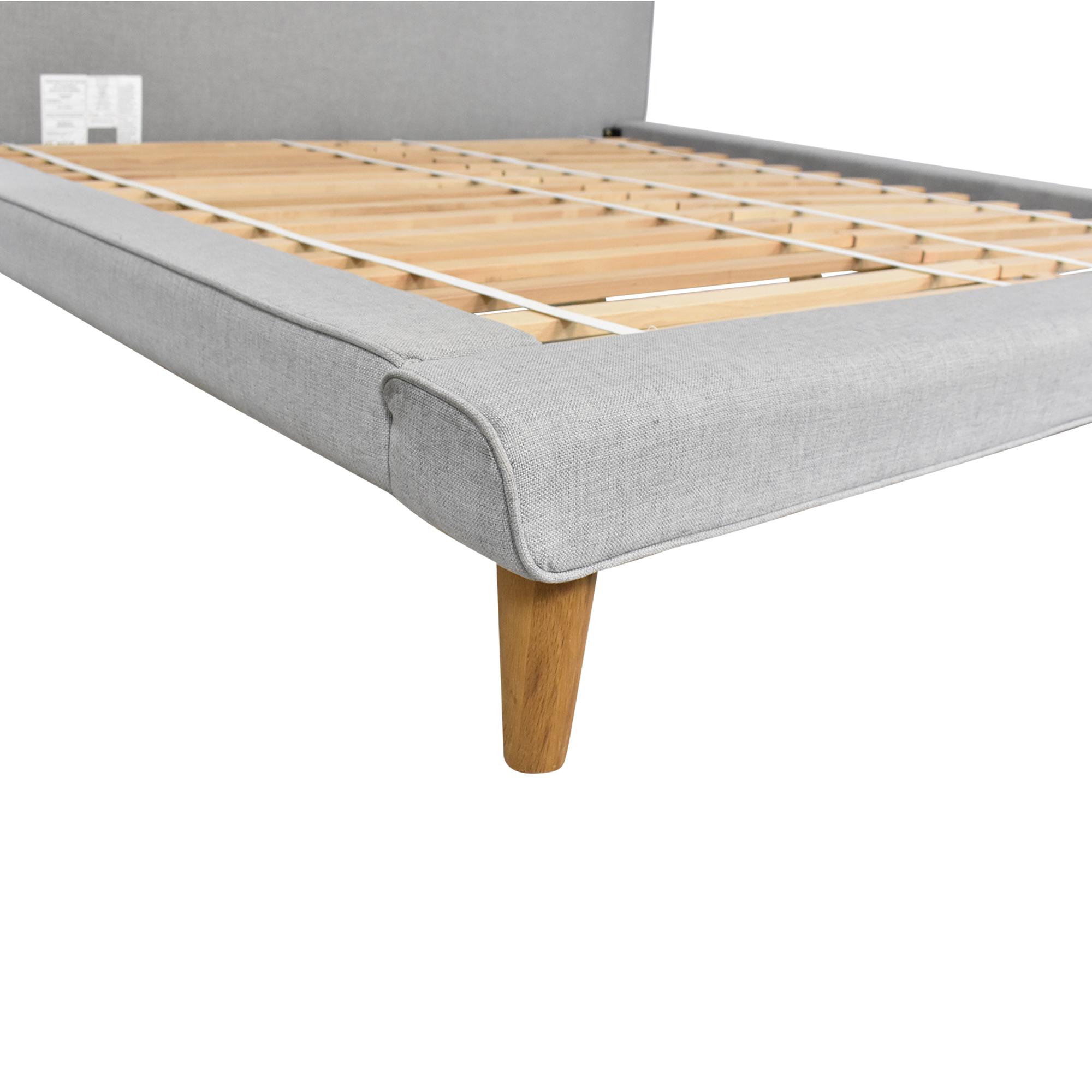 West Elm West Elm Mod Upholstered King Bed discount