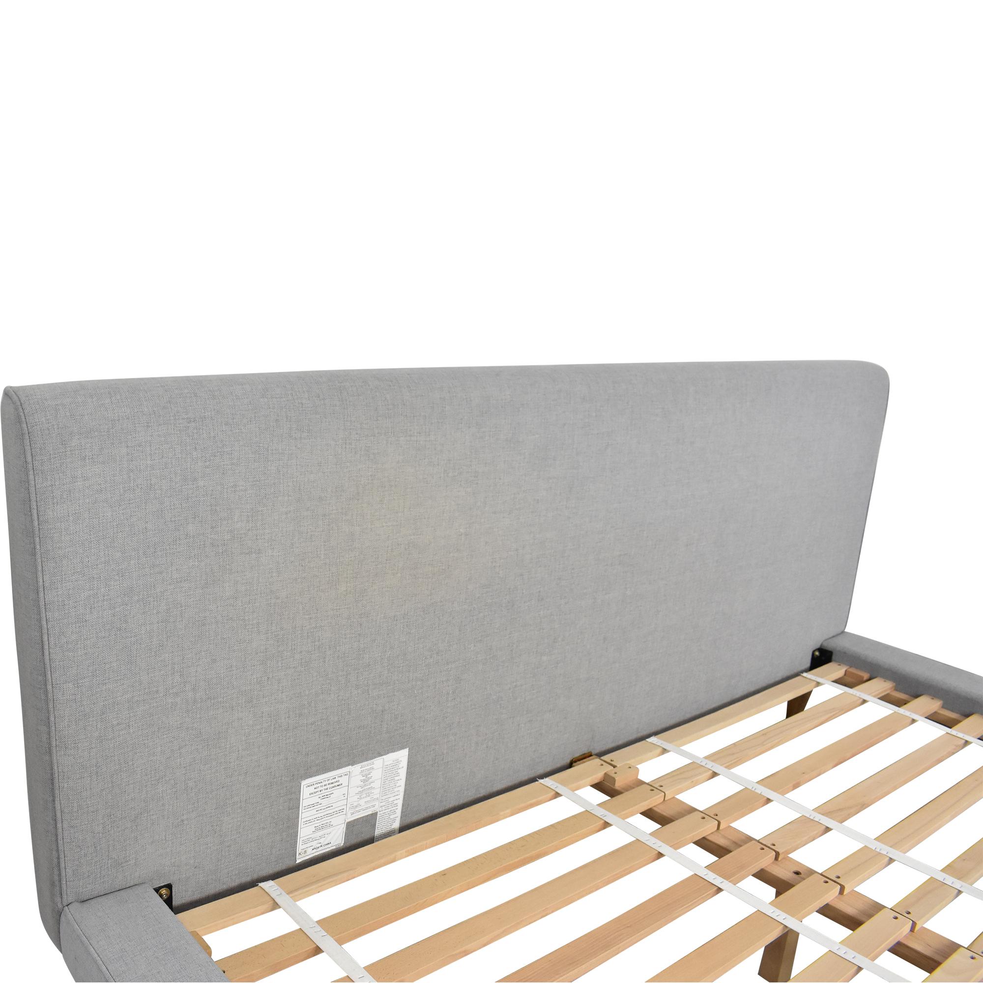 shop West Elm West Elm Mod Upholstered King Bed online