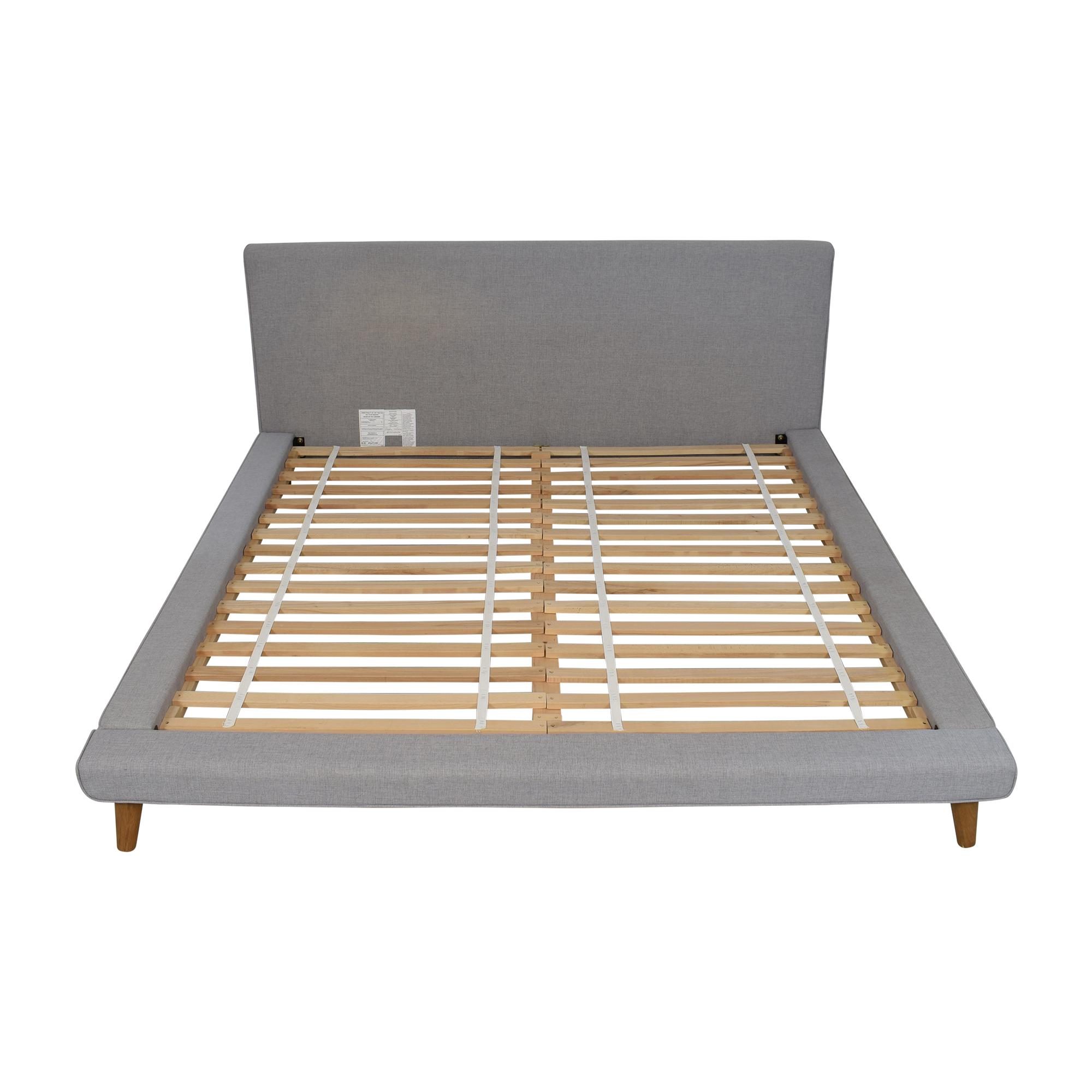 buy West Elm West Elm Mod Upholstered King Bed online