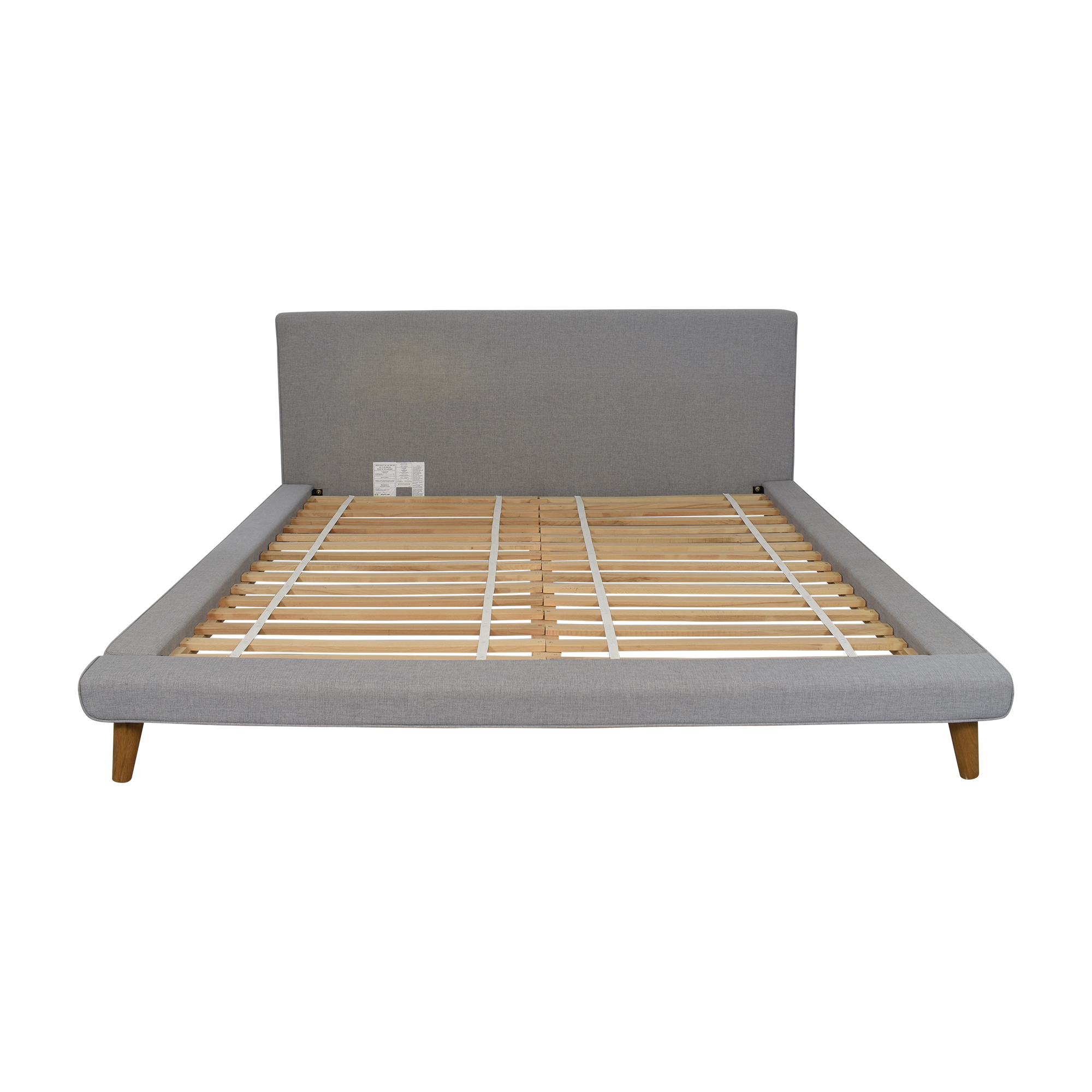 West Elm West Elm Mod Upholstered King Bed dimensions