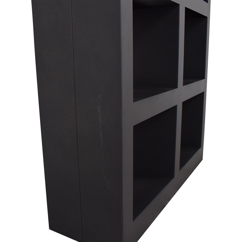 buy Crate & Barrel Shadow Box Tower Crate & Barrel Storage