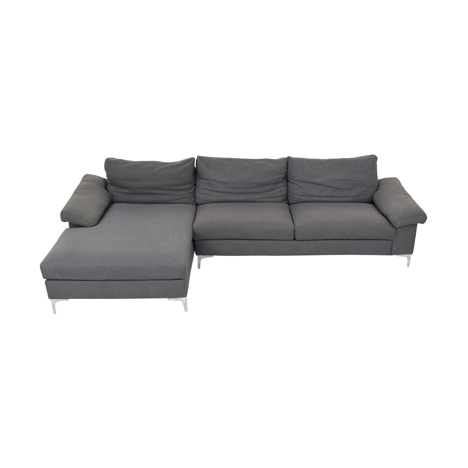 Ethan Allen Ethan Allen Sectional Sofa with Chaise ct