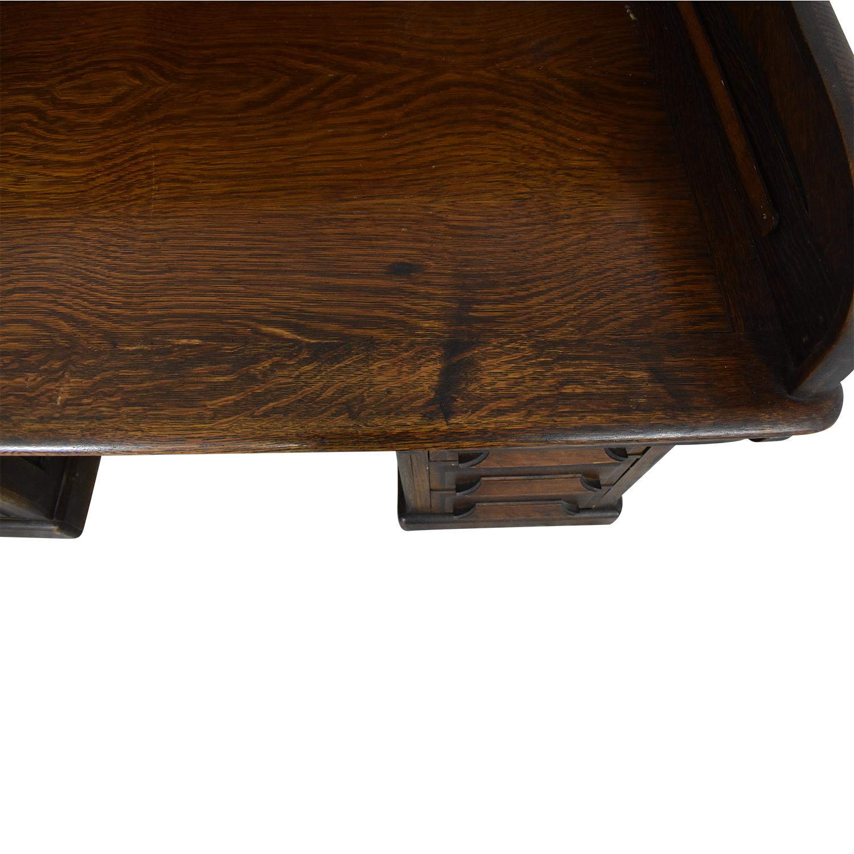 Gunn Furniture Roll-Top Desk sale
