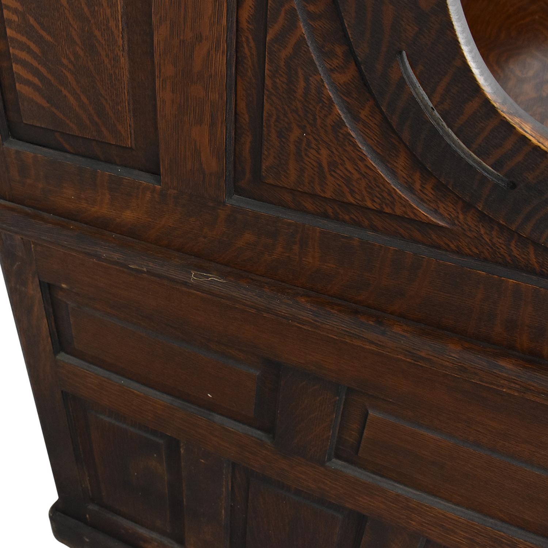 Gunn Furniture Co. Gunn Furniture Roll-Top Desk brown