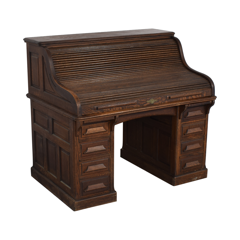 Gunn Furniture Co. Gunn Furniture Roll-Top Desk used