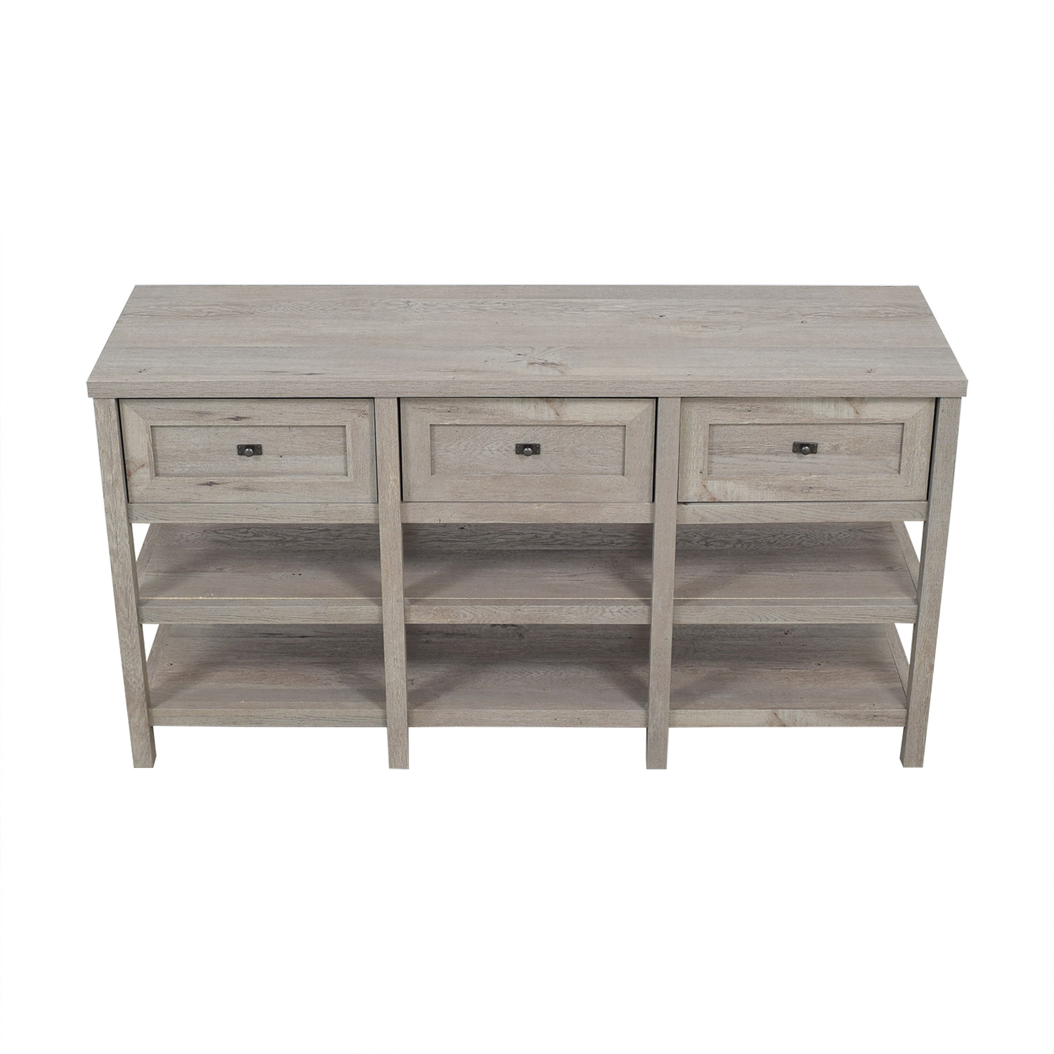 Sauder Three Drawer Media Console sale