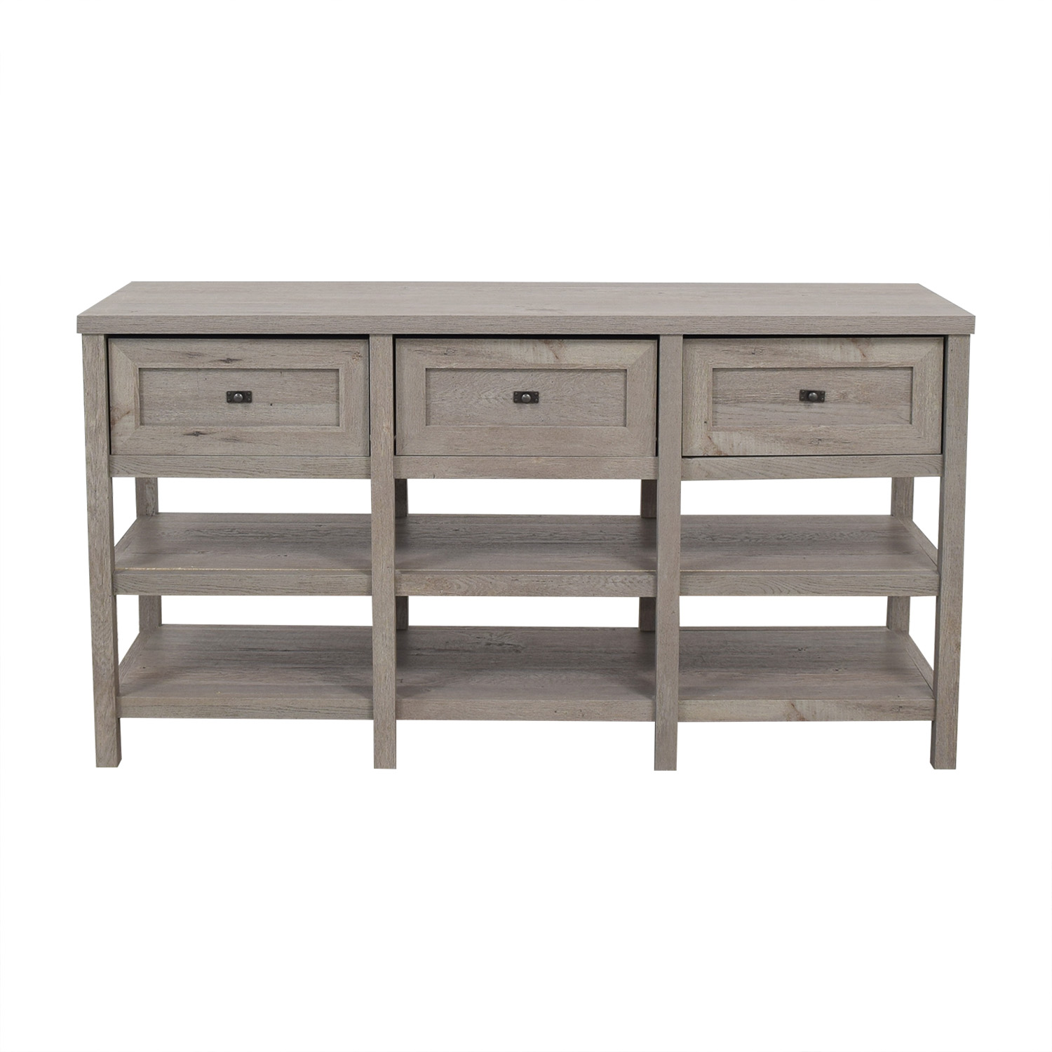 shop Sauder Three Drawer Media Console Sauder