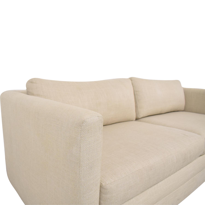 Mitchell Gold + Bob Williams Mitchell Gold + Bob Williams Two Cushion Sofa pa