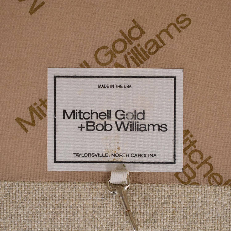 Mitchell Gold + Bob Williams Mitchell Gold + Bob Williams Two Cushion Sofa used