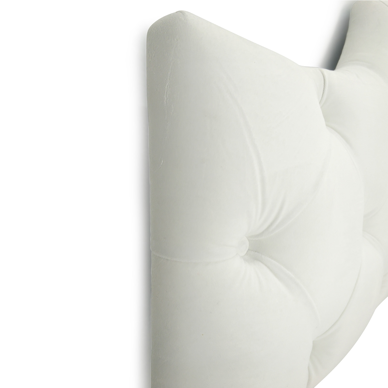 Sleepys Sleepys White Tufted King Headboard discount