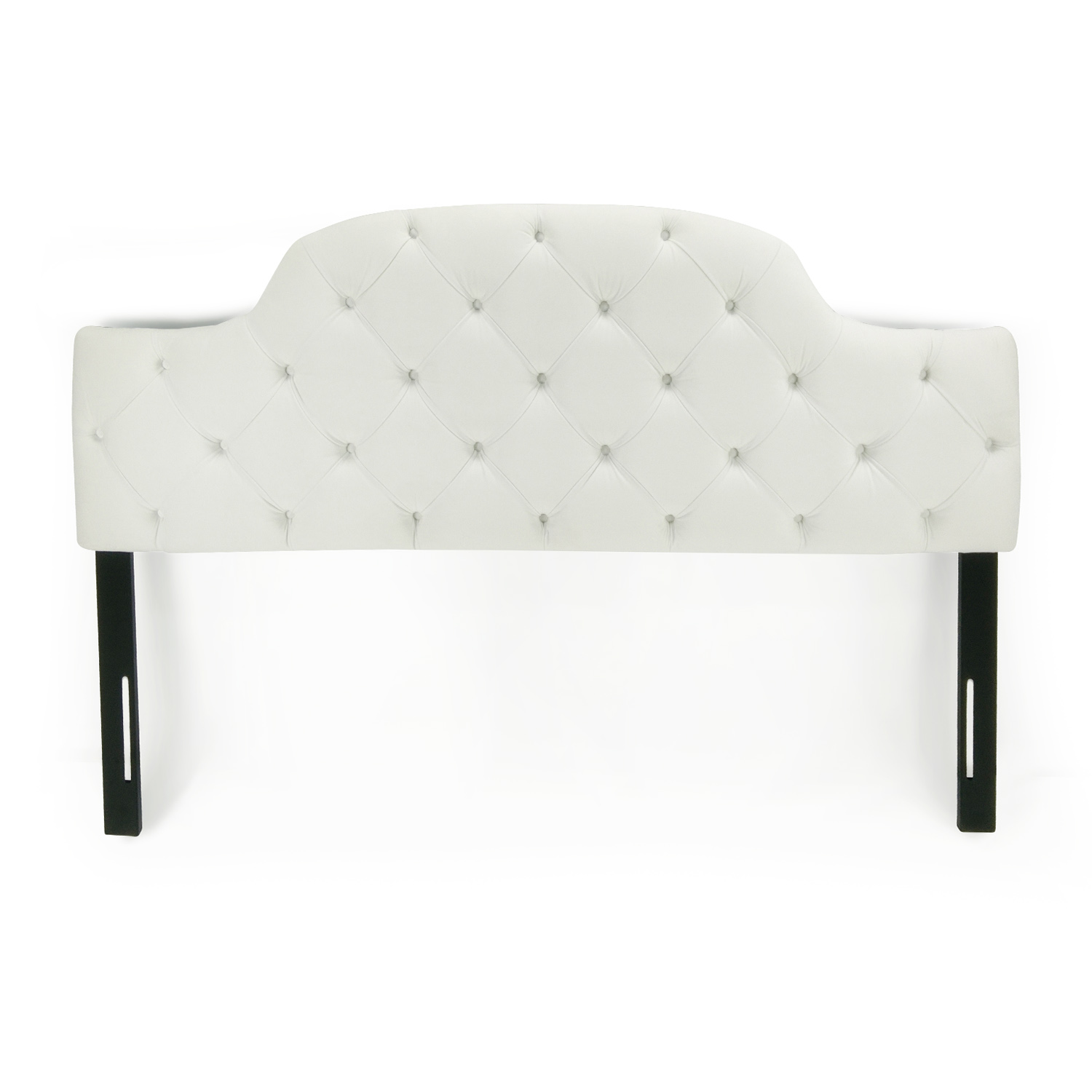 Sleepy's Sleepy's White Tufted King Headboard nj