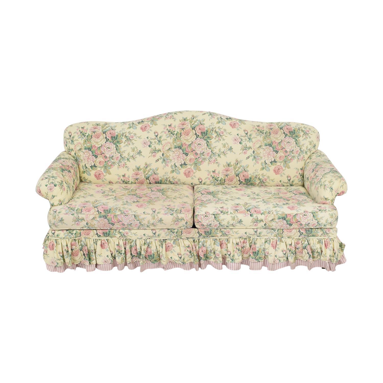 Bassett Furniture Skirted Sofa Bed / Sofas