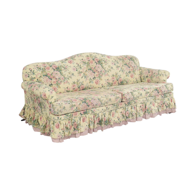 Bassett Furniture Bassett Furniture Skirted Sofa Bed for sale