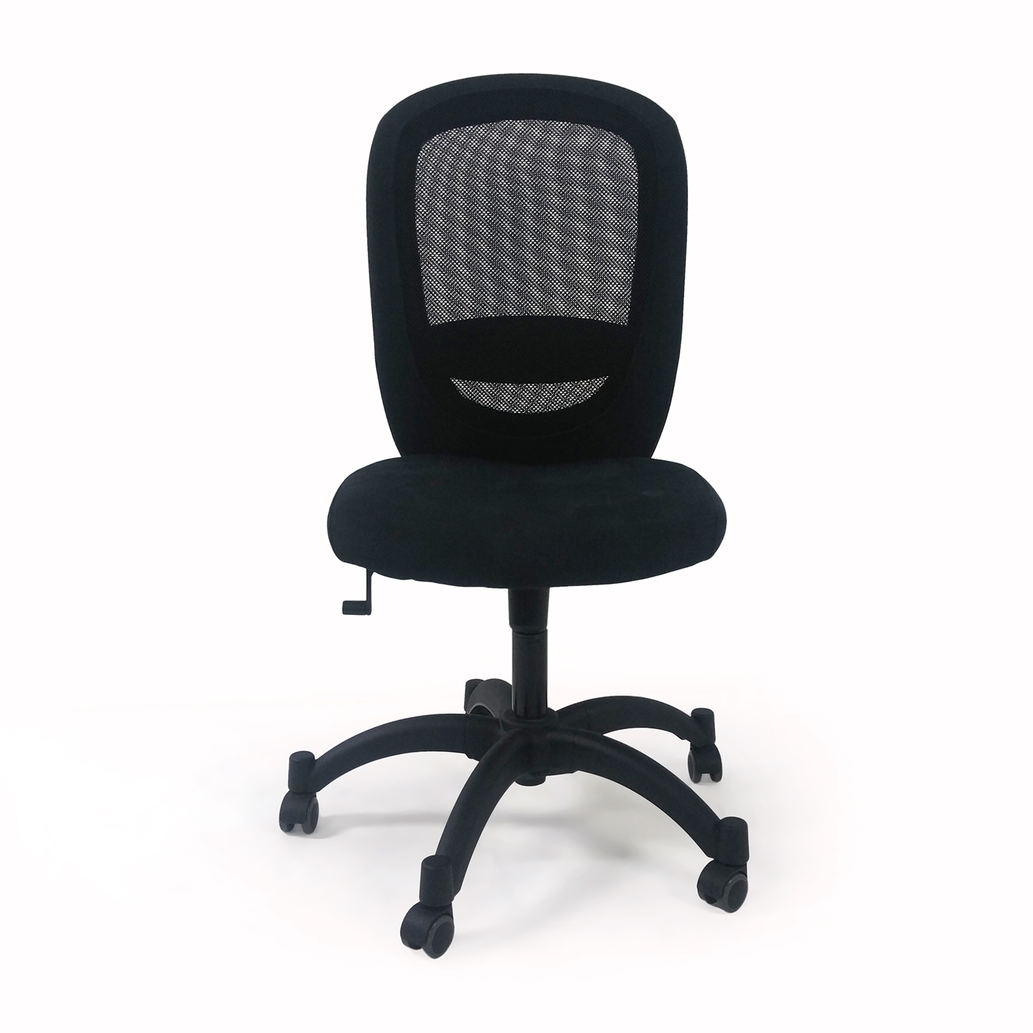IKEA Black Swivel Chair Black