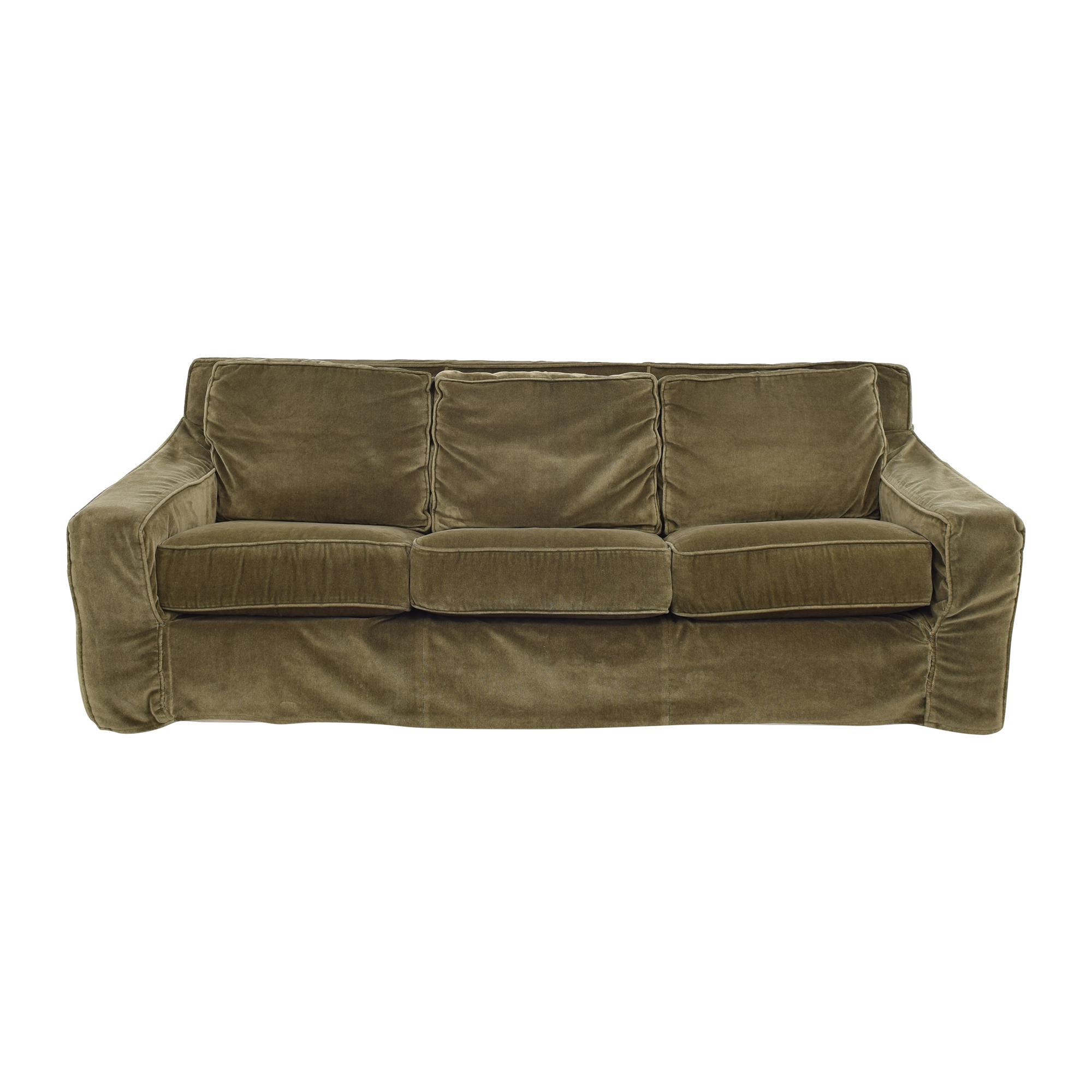 Mitchell Gold Queen Sleeper Sofa sale