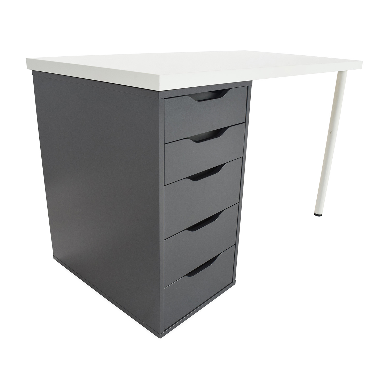 51% OFF IKEA Study Table Tables