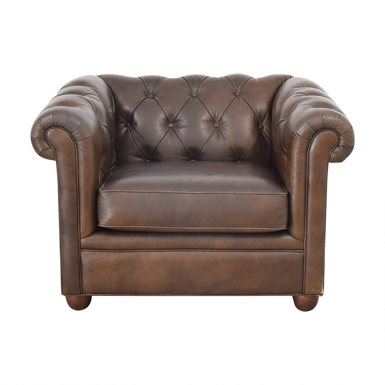 buy Pottery Barn Chesterfield Armchair Pottery Barn Accent Chairs