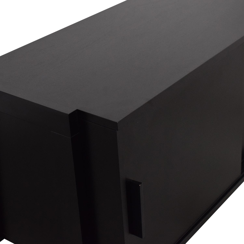CB2 CB2 Media Console black